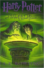 Harry Potter Half-Blood Prince Book