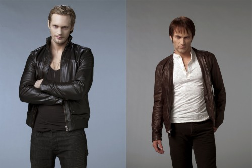 Eric Northman and Bill Compton