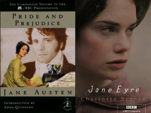 Jane Eyre and Pride and Prejudice