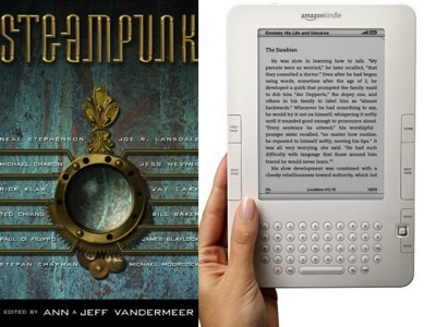 Steampunk and Kindle