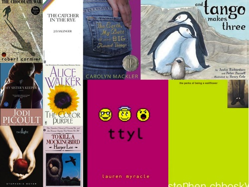 Top Ten Banned Books of 2009