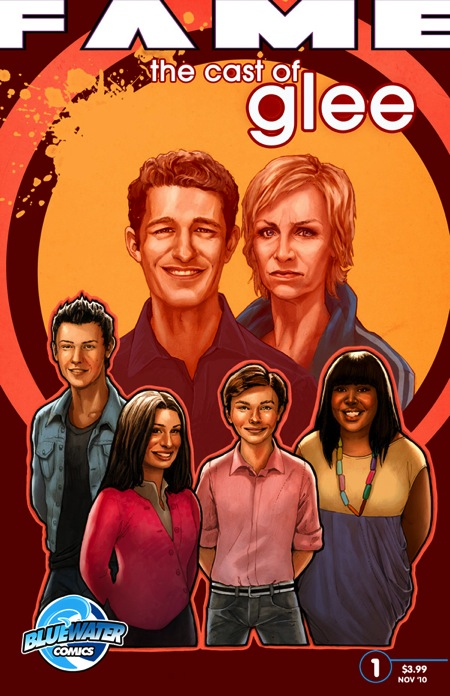 GLEE Comic Book Cover