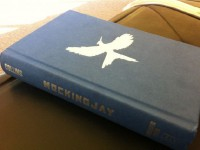 Andrew Sims' twitpic of Mockingjay
