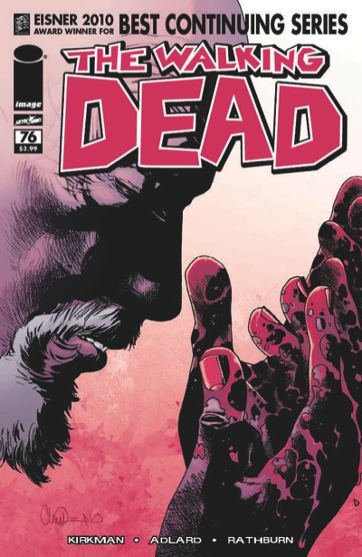 The Walking Dead Issue 76 cover