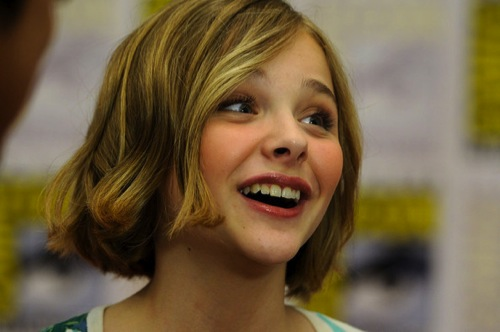 Chloe Moretz Wants to Play Katniss in HUNGER GAMES Movie ...