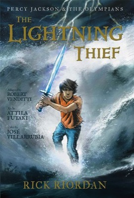 Read An Excerpt From The Percy Jackson Graphic Novel Book Equals