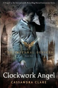 clockwork angel the infernal devices book cover