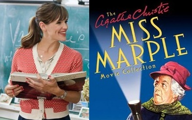 Jennifer Garner as Miss Marple