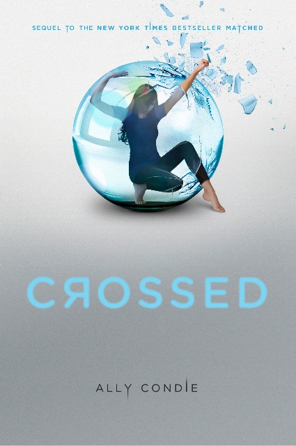 crossed ally condie book cover