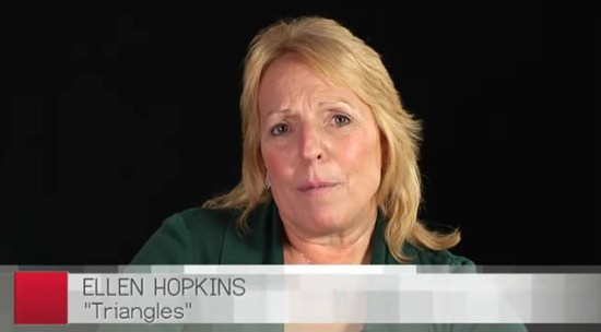 ellen hopkins talking triangles video