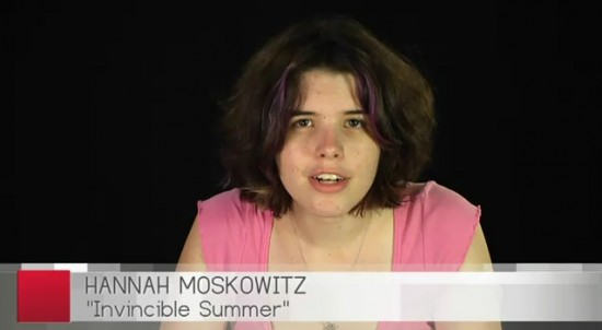 hannah moskowitz invincible summer video
