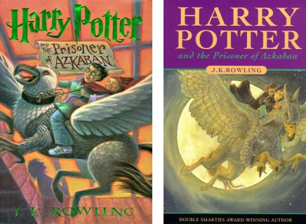 harry potter and the prisoner of azkaban book covers