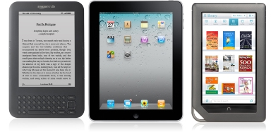 Kindle ipad nook