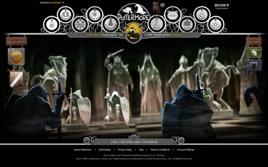 pottermore chessboard chamber