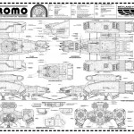 Nostromo blueprint - enclosure