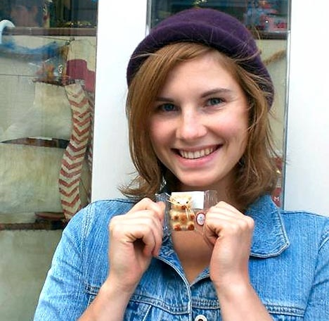 Amanda knox is getting a book deal with harpercollins book equals