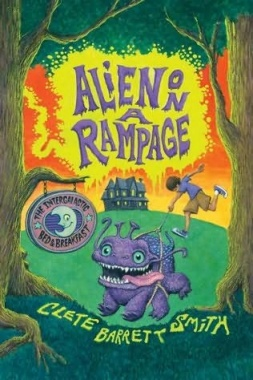 alien on a rampage book
